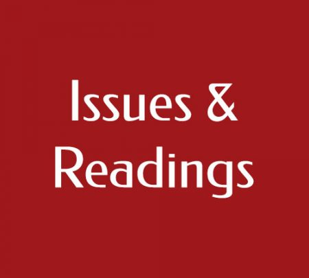 Issues and Readings