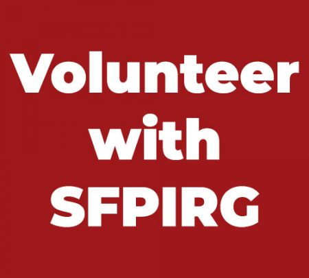 Volunteer with SFPIRG